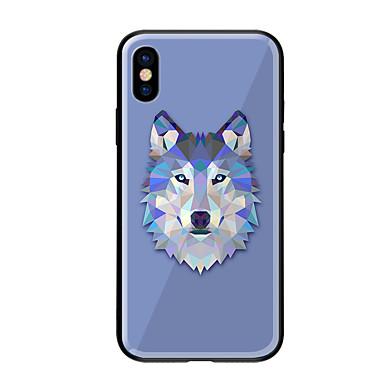 8 Per 8 iPhone iPhone Custodia per Vetro iPhone Animali temperato Plus Apple Resistente disegno 06613163 X X Per Fantasia retro 8 iPhone iPhone UXEEdw