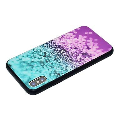 Colore X graduale Resistente Apple Per 8 disegno Custodia Plus iPhone X per temperato iPhone Vetro sfumato 06633023 e retro Per iPhone Fantasia qPwptx7Z
