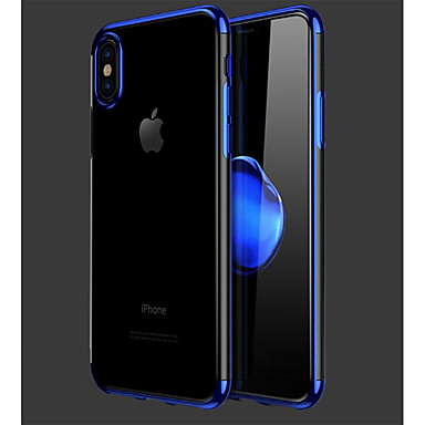 per Apple iPhone iPhone 8 8 Morbido iPhone Tinta X Plus Placcato 7 8 8 iPhone retro iPhone Plus Per Plus unita Custodia Per iPhone 06633595 TPU 5U6Bxq