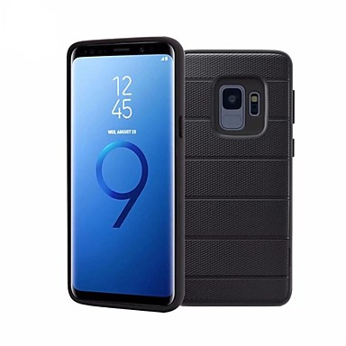 [$8.99] Case For Samsung Galaxy S9 S9 Plus with Stand Back Cover Solid Colored Soft TPU for S9 Plus S9 S8 Plus S8