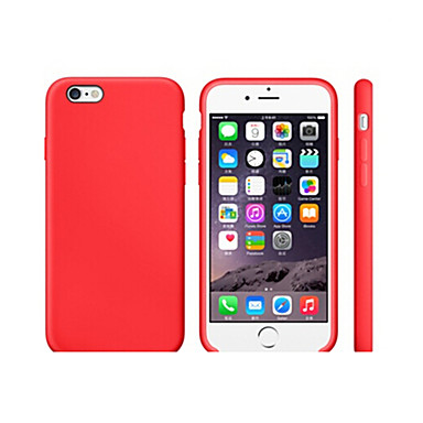 Case For Apple iPhone 8 iPhone 8 Plus Shockproof Ultra-thin Back Cover Solid Color Soft TPU for iPhone 8 Plus iPhone 8 iPhone 7 Plus