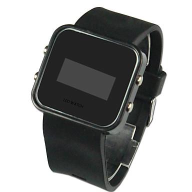 0c1c0e037ce6 Hombre Reloj de Pulsera Reloj digital Digital Silicona Negro Calendario LED  Digital Encanto - Negro Un