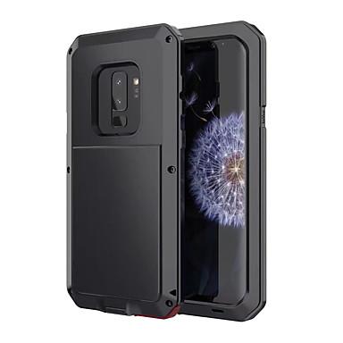 voordelige Galaxy S-serie hoesjes / covers-hoesje Voor Samsung Galaxy S9 Schokbestendig / Waterbestendig Volledig hoesje Schild Hard Metaal