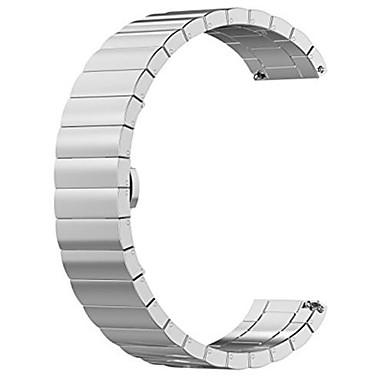 Недорогие Ремешки для часов Huawei-Ремешок для часов для Huawei Watch Huawei Бабочка Пряжка Металл / Нержавеющая сталь Повязка на запястье