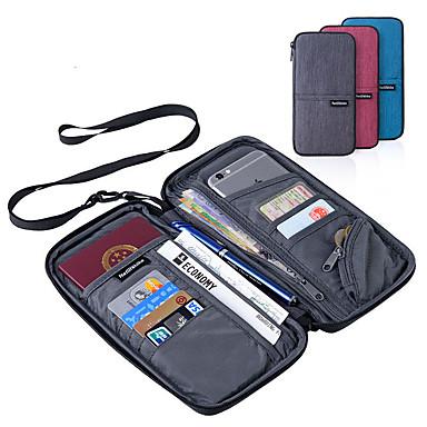 economico Sicurezza in viaggio-Portadocumenti Portatile Multi-funzione Accessori per valigia Poliestere 22.5*12cm cm