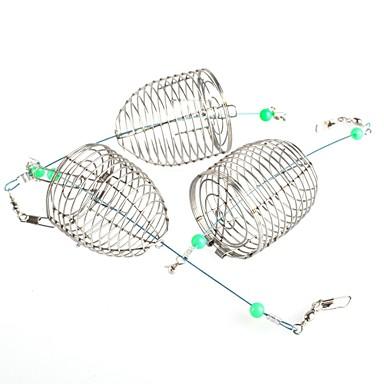 Fishing Trap 2 pcs Rybářská Snadná instalace Snadné používání Kov Mořský rybolov Muškaření Bait Casting / Rybaření v ledu / Spinning / Jigging / Rybaření ve sladkých vodách / Lov kaprů
