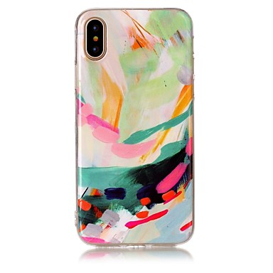 Apple iPhone Ultra Morbido Custodia Per retro Effetto X Plus 8 TPU X 8 iPhone sottile 8 iPhone marmo iPhone Per 06609772 per iPhone R5YFfx