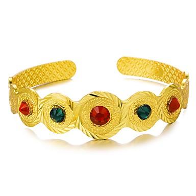 Manchettes Bracelets - Ethnique Bracelet Or Pour Soirée Cadeau
