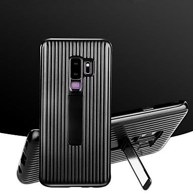 voordelige Galaxy S-serie hoesjes / covers-hoesje Voor Samsung Galaxy S9 / S9 Plus / S8 Plus Schokbestendig / met standaard Achterkant Lijnen / golven Hard PC