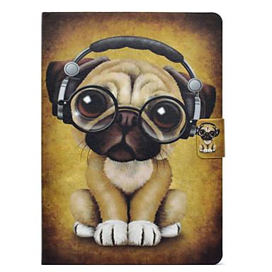 Case For Apple iPad Pro 9.7 / iPad 4/3/2 Card Holder / Shockproof / with Stand Full Body Cases Dog Hard PU Leather for iPad Air / iPad 4/3/2 / iPad Pro 10.5 / iPad (2017)