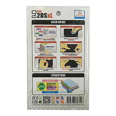 رخيصةأون اكسسوارات ألعاب الفيديو-شاشة واقي من أجل نينتندو شاشة واقي PP 1 pcs وحدة