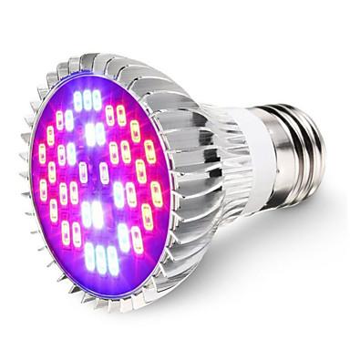 1szt 7W 600lm E26 / E27 Rosnąca żarówka 40 Koraliki LED SMD 5730 Dekoracyjna Zimna biel Na podczerwień UV (podświetlenie) Niebieski