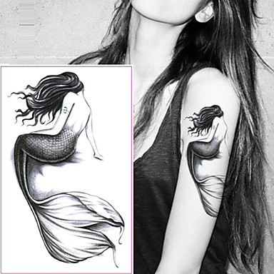 5 pcs Tattoo Stickers Temporary Tattoos Cartoon Series Body Arts Wrist