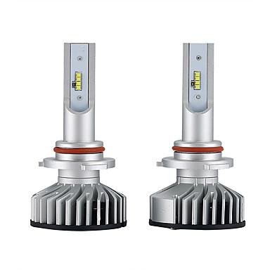 voordelige Autokoplampen-2pcs H10 / 9005 Automatisch Lampen 25W Geïntegreerde LED 3000lm 2 LED Koplamp For Universeel Alle Modellen Alle jaren