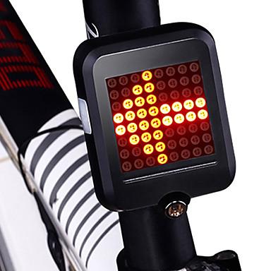 cheap Bike Lights-LED Bike Light Rear Bike Tail Light Safety Light Tail Light Cycling Waterproof Portable Foldable Li-ion 200 lm Red Cycling / Bike