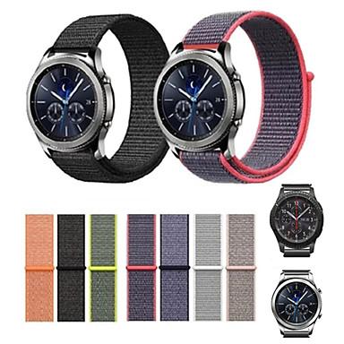 voordelige Horlogebandjes voor Samsung-Horlogeband voor Gear S3 Frontier / Gear S3 Classic Samsung Galaxy Moderne gesp Nylon Polsband