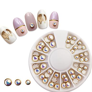 1 pcs مجوهرات الأظافر تصميم شعبي فن الأظافر تجميل الأظافر والقدمين ملبس يومي مجوهرات عصرية / أنيق