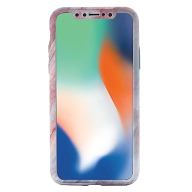 X Integrale iPhone iPhone Custodia iPhone PC Effetto X 8 per Fantasia disegno Per Resistente 8 06749208 8 iPhone Apple Plus marmo iPhone yq6fwxt86a