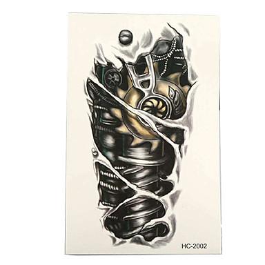3 pcs ملصقات الوشم الوشم المؤقت سلسلة الطوطم الفنون الجسم ذراع