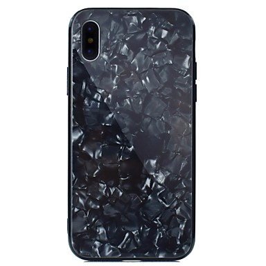 Plus iPhone Resistente iPhone iPhone specchio Plus Geometrica Colore 8 e 8 graduale Effetto Placcato X iPhone temperato marmo X retro Per Vetro Apple 06769515 sfumato A Custodia per 8 Per iPhone WHqIpp