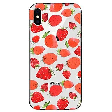 Plus Per iPhone disegno Morbido iPhone 06749162 Per TPU Frutta iPhone retro Fantasia 8 Transparente iPhone 8 per Apple iPhone 8 X Custodia X zEgpqx