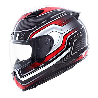 저렴한 헬맷 & 마스크-YOHE YH-957 풀 페이스 어른 남여 공용 오토바이 헬멧 통기성 / 탈취제 / 땀 방지