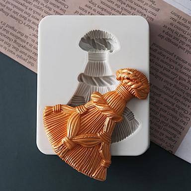 1PC سيليكون عطلة 3Dكرتون خلاق كعكة الشوكولاتي لكاندي مربع قوالب الكيك أدوات خبز