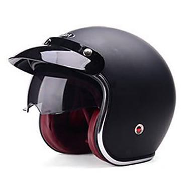 YEMA 629 نصف خوذة بالغين للجنسين دراجة نارية خوذة ضد الصدمات / ضد UV / ضد الهواء