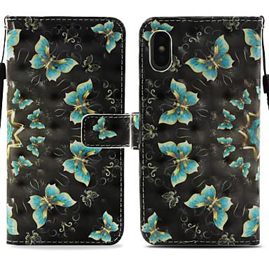 supporto iPhone 8 Custodia Integrale magnetica di X pelle X Plus Porta iPhone 8 iPhone Per sintetica Apple Con iPhone 8 Resistente carte per Farfalla chiusura iPhone 06749389 credito Con SS6PgZqxn