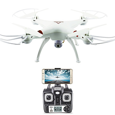 [$47.99] RC Drone FLYRC X53 RTF 4CH 6 Axis 2.4G With HD Camera 1.0MP 1080P*720P RC Quadcopter One Key To Auto-Return / Auto-Takeoff / Access