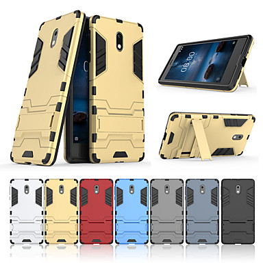 halpa Nokia kotelot / kuoret-Etui Käyttötarkoitus Nokia Nokia 3 Tuella Takakuori Yhtenäinen Kova PC varten Nokia 3