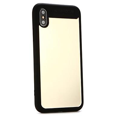 غطاء من أجل Apple iPhone X / iPhone 8 Plus / iPhone 8 اصنع بنفسك غطاء خلفي لون سادة قاسي أكريليك