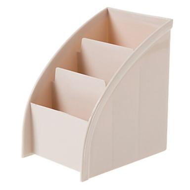 بلاستيك بيضوي كوول الصفحة الرئيسية منظمة, 1PC منظمو أداة / تخزين الماكياج