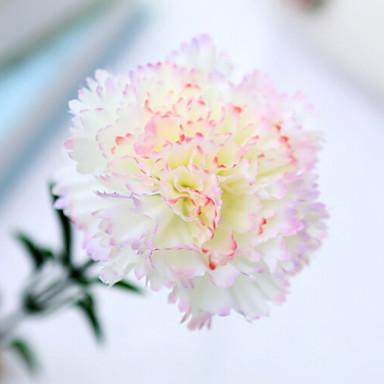 زهور اصطناعية 1 فرع كلاسيكي الحديث المعاصر قرنفل أزهار الطاولة