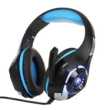 Недорогие Наушники для геймеров-KOTION EACH GM-1 Игровая гарнитура Проводное Игры С микрофоном