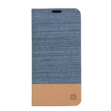 غطاء من أجل Samsung Galaxy A5(2016) / A3(2016) / A5 حامل البطاقات / مع حامل / قلب غطاء كامل للجسم لون سادة قاسي جلد PU