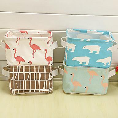 قماش مستطيل محبوب الصفحة الرئيسية منظمة, 1PC حقائب التخزين