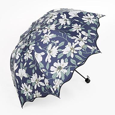 البوليستر / ستانلس ستيل الجميع تصميم جديد / مشمس وممطر مظلة ملطية