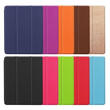 غطاء من أجل Huawei Huawei MediaPad M3 Lite 8(CPN-W09, CPN-AL00 مع حامل / مغناطيس غطاء كامل للجسم لون سادة قاسي جلد PU