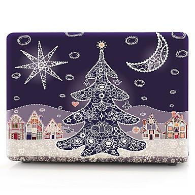 MacBook Etuis Noël Plastique pour MacBook Pro 13 pouces / MacBook Pro 15 pouces / MacBook Air 13 pouces