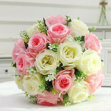 زهور اصطناعية 1 فرع كلاسيكي الزفاف Wedding Flowers الورود أزهار الطاولة