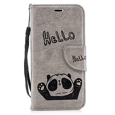 iPhone pelle iPhone carte di X supporto X Apple Custodia Resistente iPhone 8 Per credito iPhone Plus A 06833920 8 iPhone Con sintetica portafoglio per Integrale Porta Panda 8 4qwTqECf