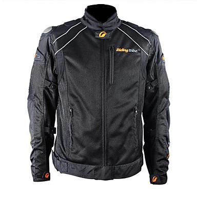 RidingTribe JK-30 ملابس نارية Jacket إلى الجميع نايلون / بوليستر كل الفصول مقاومة للاهتراء / حماية / متنفس