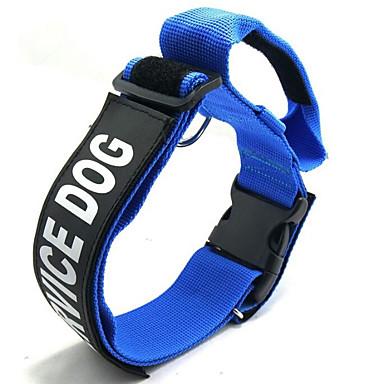 كلاب ياقة المحمول حجم قابل للتعديل قابلة للطي مقولات و أقوال نايلون أسود أحمر أزرق
