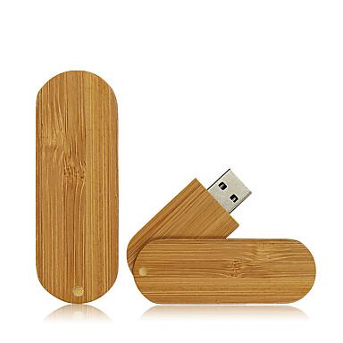 Ants 32GB محرك فلاش USB قرص أوسب USB 2.0 خشبي / بامبو متناوب