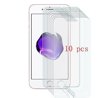 voordelige iPhone 7 screenprotectors-AppleScreen ProtectoriPhone 7 9H-hardheid Voorkant screenprotector 10 stuks Gehard Glas