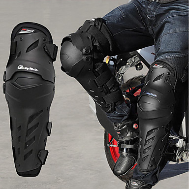 voordelige Beschermende uitrusting-pro-biker motorfiets kniebeschermers motorcross off-road racing scheenbeschermers volledige bescherming versnelling kniebeschermer