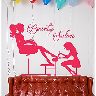 لواصق حائط مزخرفة - لواصق حائط الطائرة / الناس ملصقات الحائط أشكال / جنيّات غرفة الجلوس / غرفة دراسة / مكتب