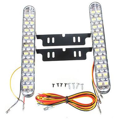 2pcs Car Light Bulbs 10 W SMD 5050 850 lm 30 LED Daytime Running Light For