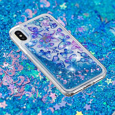 Plus X 06878503 8 retro 8 Fantasia 8 Farfalla X cascata Per Apple iPhone Plus TPU per Per iPhone Morbido Custodia iPhone iPhone iPhone Liquido disegno a Transparente FqRYCRw
